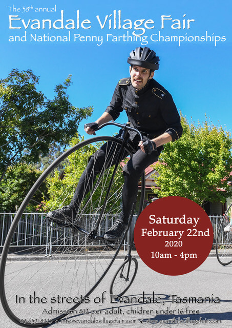 National Penny Farthing Championships flyer 2020