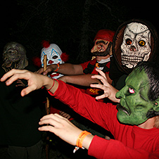 Haunted Hayride Spooking Volunteers Longhorn Council