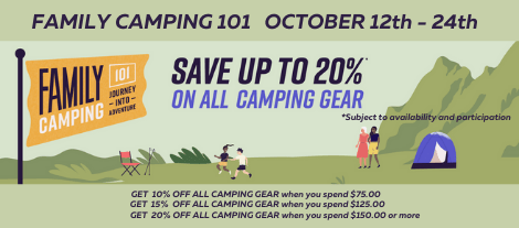 Save up to 20% at Longhorn Council Scout Shops