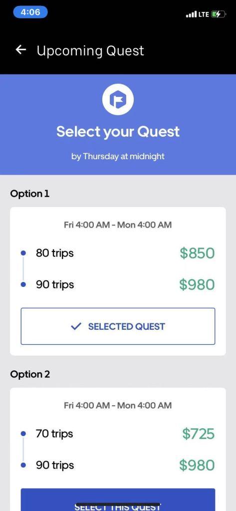 uber quest