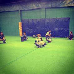 baseball catchers clinic