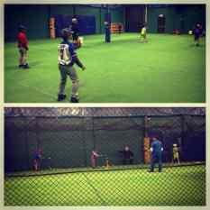 baseball team training