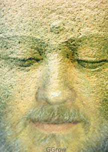 Merging with the Face of the Buddha