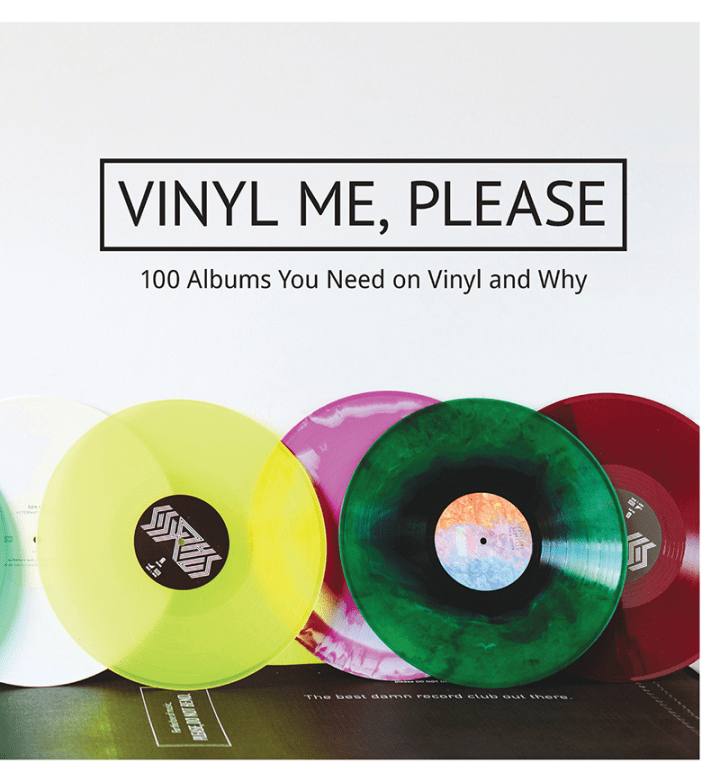 vinyl me please book