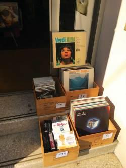 Vienna record shop Allegro