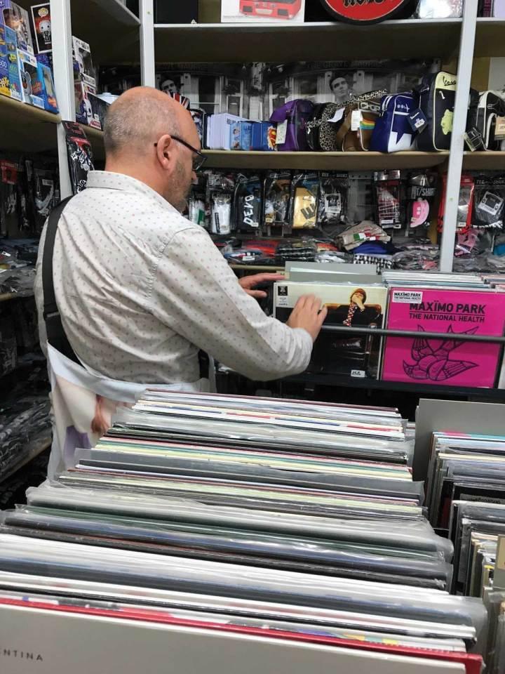 Vienna record shop Record bag