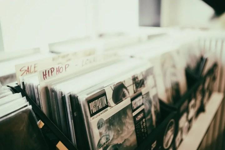 Hip hop records