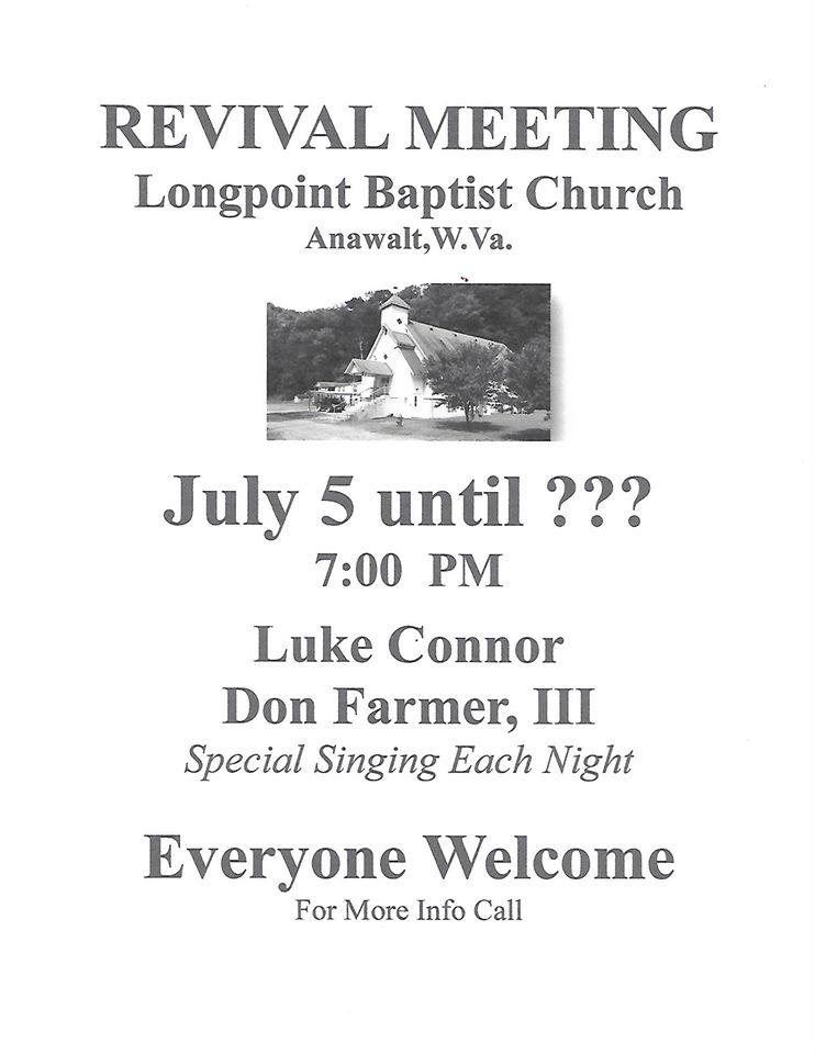 Revival Flyer Summer 2016