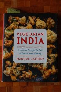 Vegetarian India cookbook