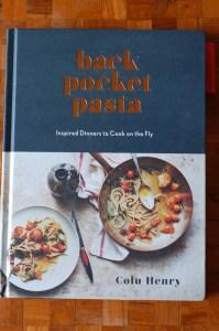 Back Pocket Pasta cookbook