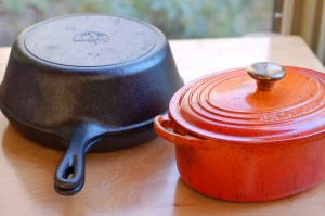 Baking vessels le creuset and lodge combo cooker
