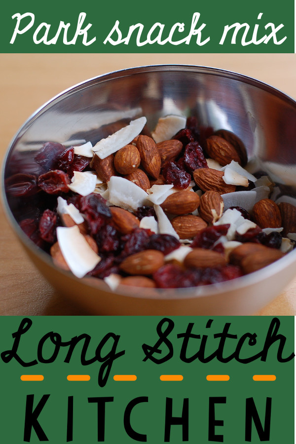Park snack mix pinterest