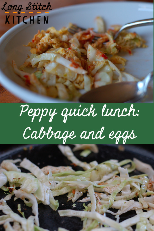 cabbage and eggs pinterest