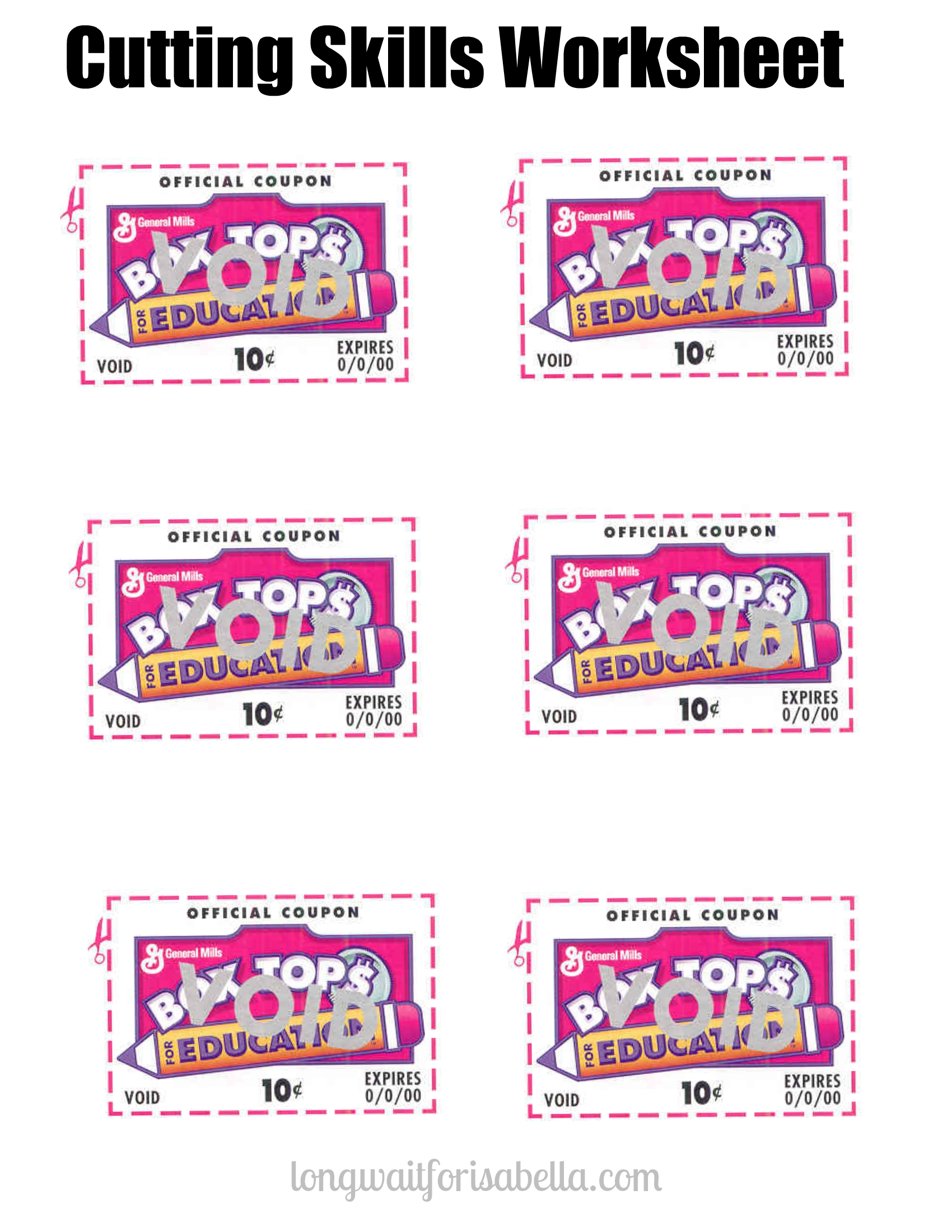 Explaining Box Tops To Preschoolers