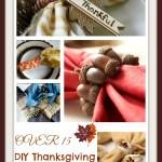 15 Diy Thanksgiving Napkin Rings