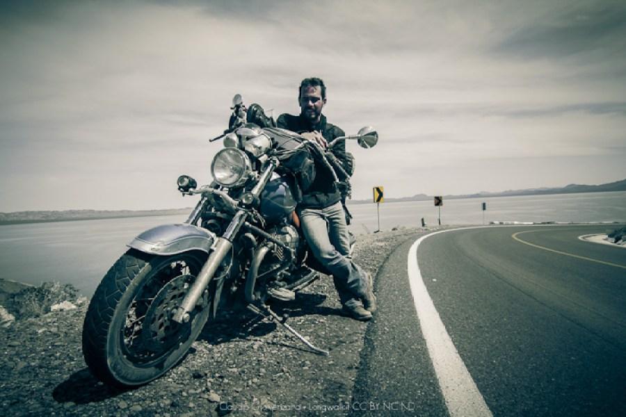 Mototurismo, il giro del mondo in moto di claudio giovenzana ora in Bassa California