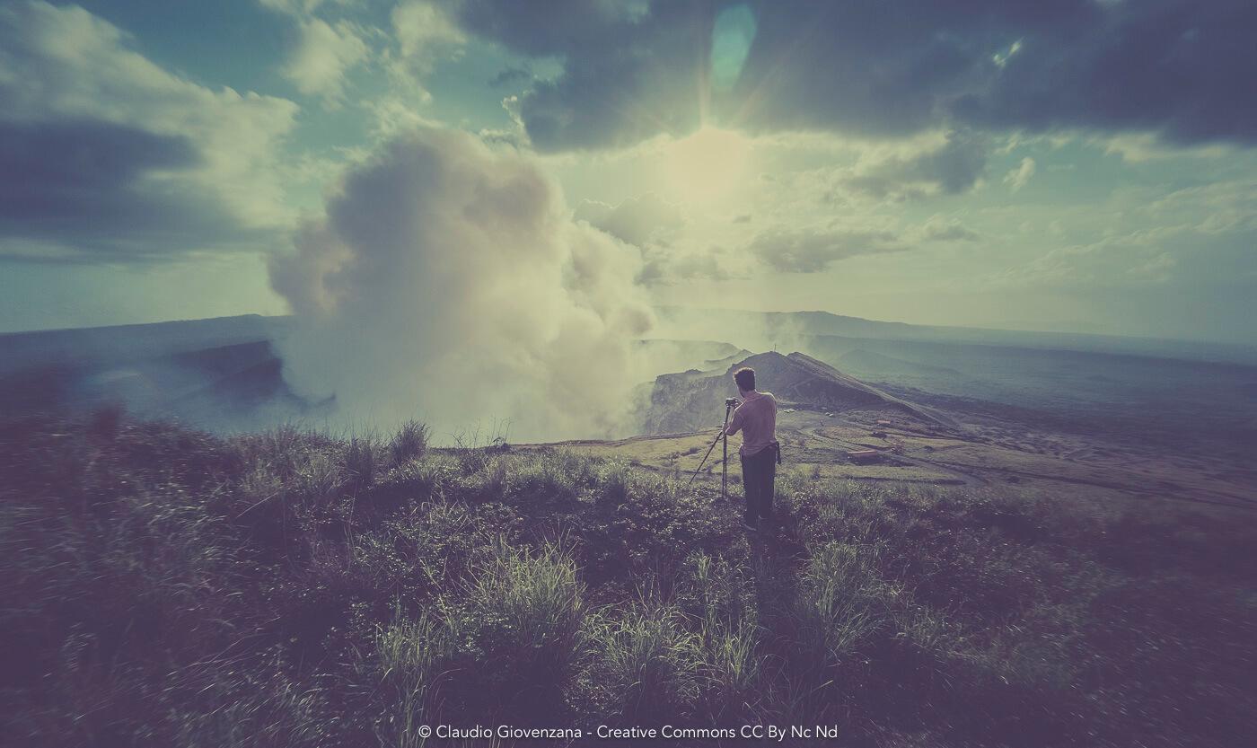 Fotografando il Vulcano Masaya in Nicaragua