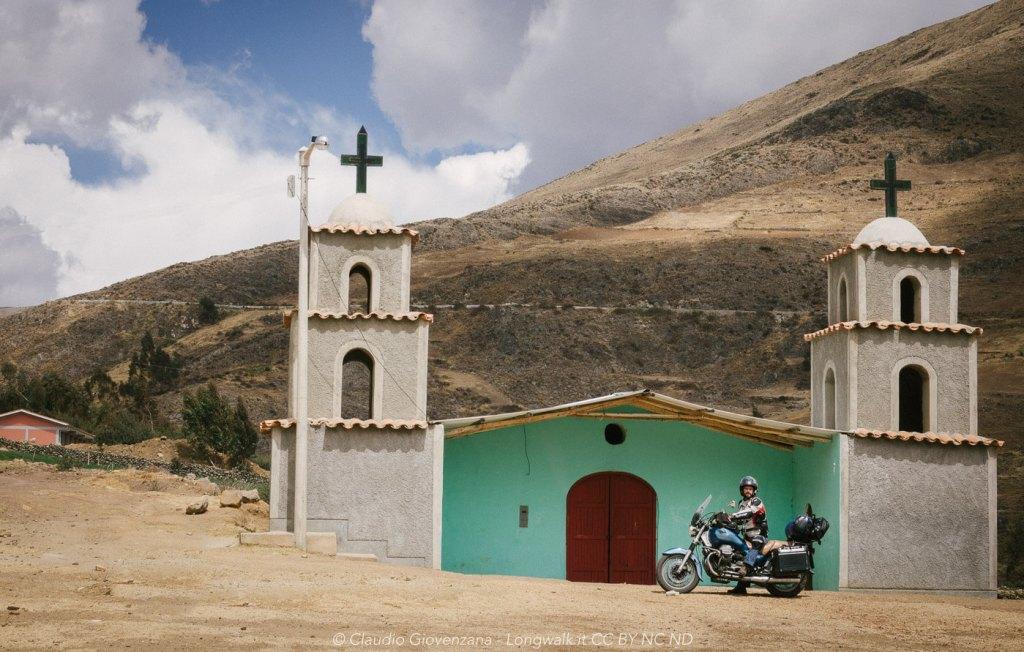 Ho raggiunto in moto una chietina del Perù