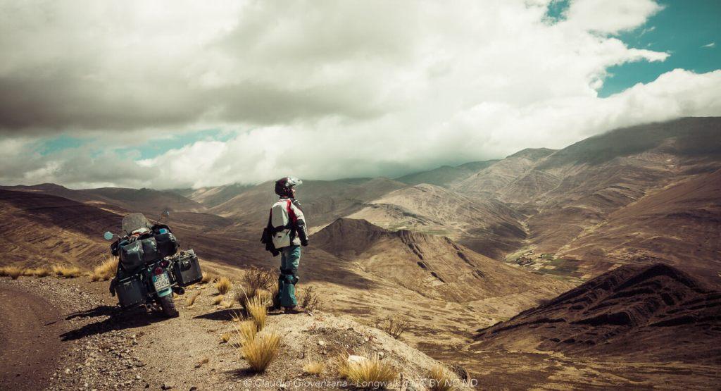 La sierra del Perù in moto