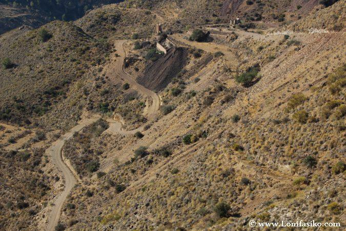 Ruta minería Bédar ALmería