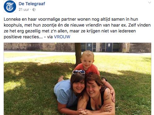 Reageren op negatieve reacties in de Telegraaf