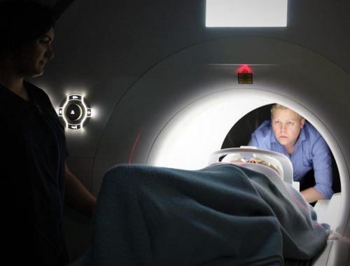 Een MRI-scan van mijn hoofd