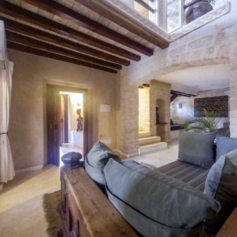 The is the largest of our suites, perfect for a family of four, it's on two floors with private patio and terrace