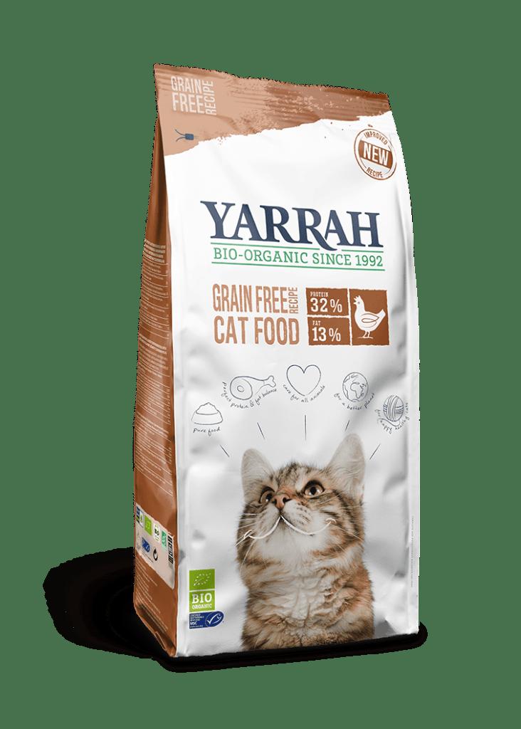 Orgaaniline teraviljavaba kassitoit YARRAH 6KG