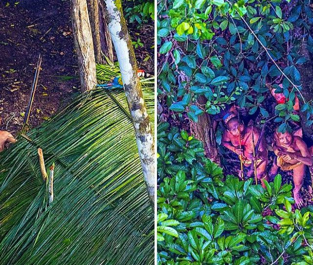 Photographer Captures Images Of Uncontacted Amazonian Tribe