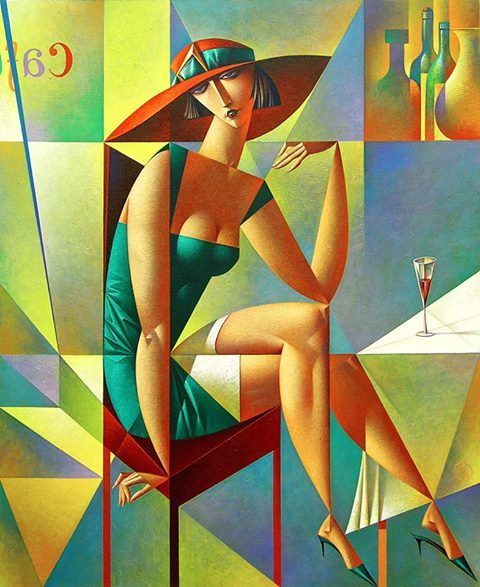 Impressive Geometrical Paintings By Georgy Kurasov
