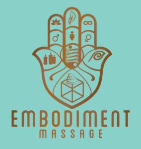 Embodiment Massage logo design by Steve Miller.