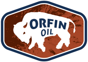 LOGO design by Steve Miller for Orfin Oil
