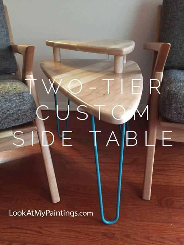 photo custom furniture side table