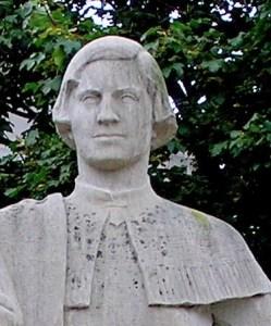 Nicolas Perrot, statue detail