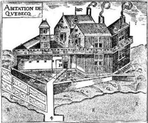 Habitation in Québec, New France
