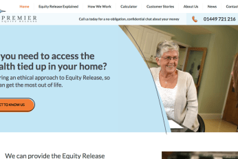 website copy for equity release