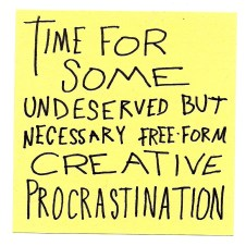 Progressive Procrastination