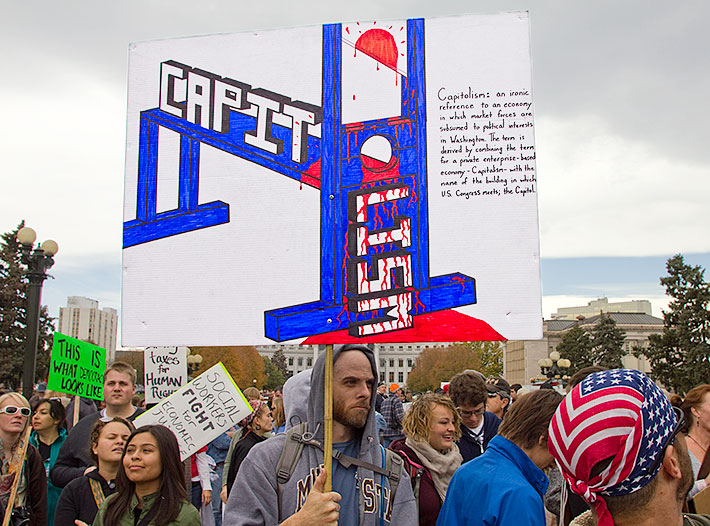 This is not a Tea Party Rally.  This is not a D.T. supporter.