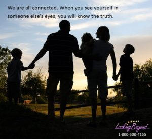 We Are All Connected - Call Looking Beyond Master Psychic Readers 1-800-500-4155 now!