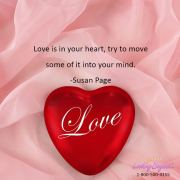 Love is in Your Heart - Call Looking Beyond Master Psychic Readers 1-800-500-4155 now!