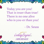 Today you are you – Looking Beyond Master Psychics