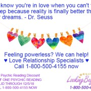 Know You're In Love - Looking Beyond Master Psychics