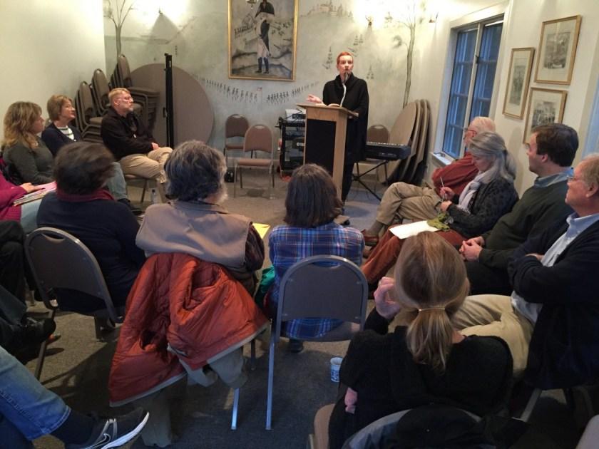 Suzanne Wolfe previews her novel for The Chrysostom Society: chrysostomsociety.org