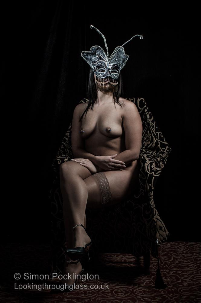 masked nude women