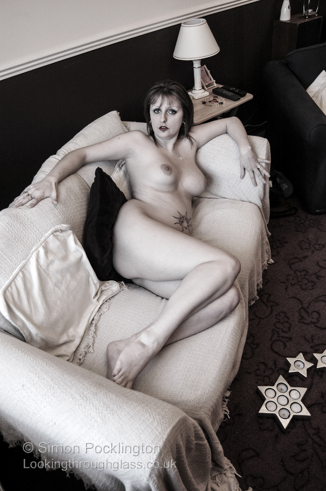 Personal Space Nude portraits of women at home