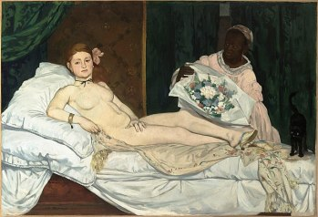 Eduard Manet Olympia 1863 Musee d'Orsay Paris