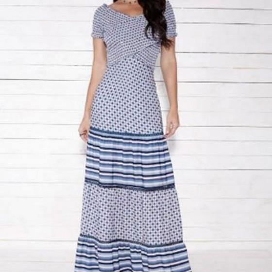 Vestidos Longos Evangélicos para Casamento - Cecytha Modas Feminina