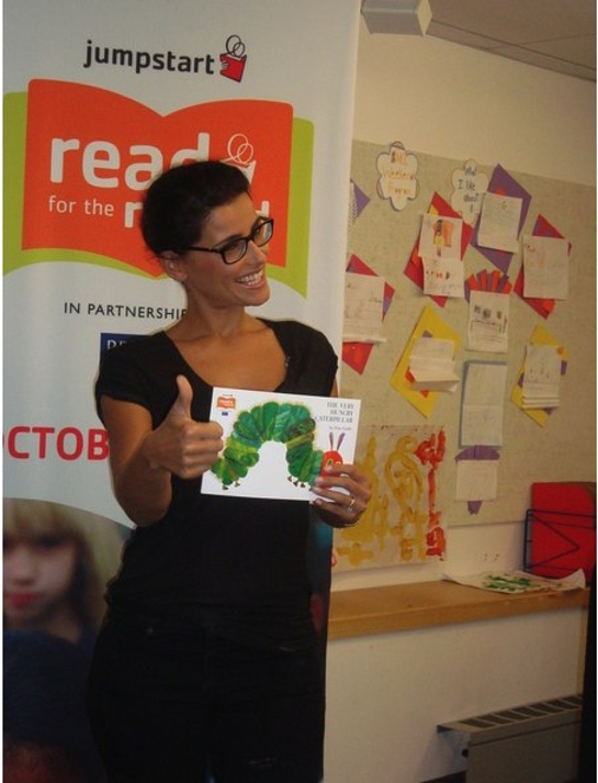 Photo: Nelly Furtado and A Very Hungry Caterpillar