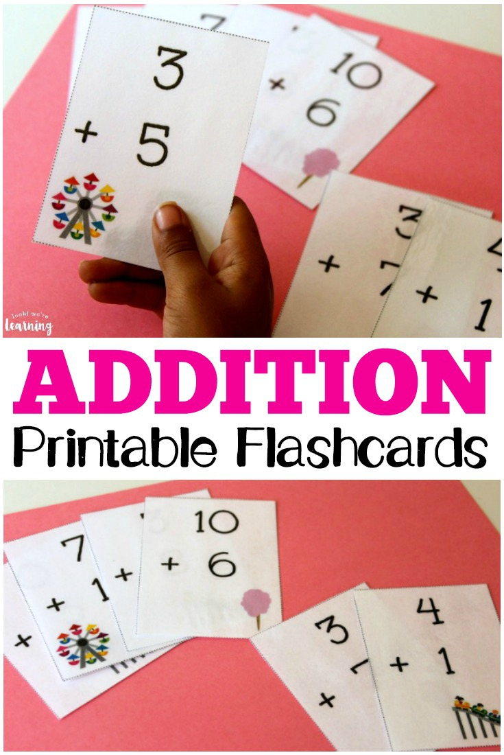 graphic relating to Printable Addition Flash Cards 0-12 named Printable Math Flash Playing cards Addition