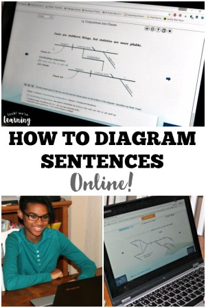 Learn with Diagrams: Online Sentence Diagramming for Kids